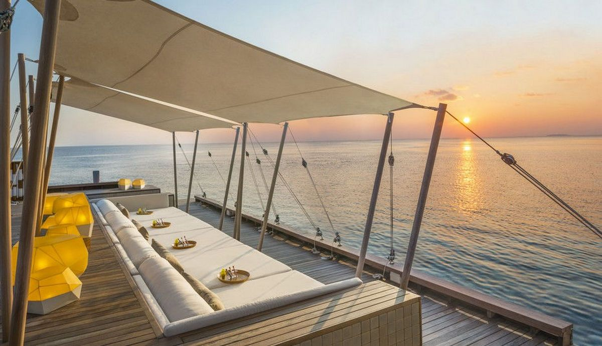 Lounge at W Maldives