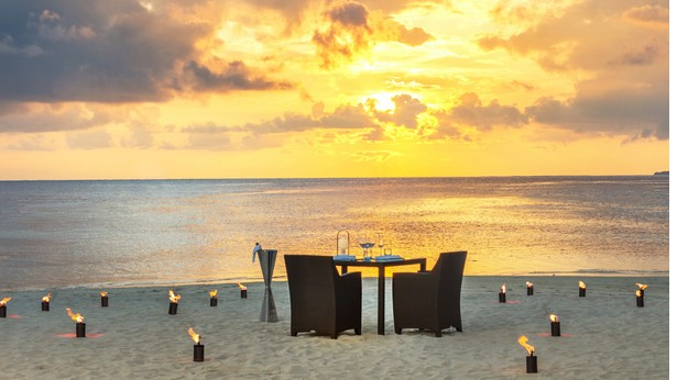Choose the venue, we'll do the rest - Dine on pristine coral terrace to the sounds of the Indian Ocean lapping on the shore around you or stay home and we'll bring your choice of menu to you and serve you in the comfort of your retreat.